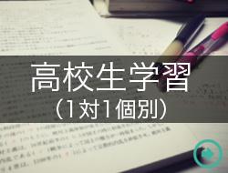 高校生学習(1対1個別)